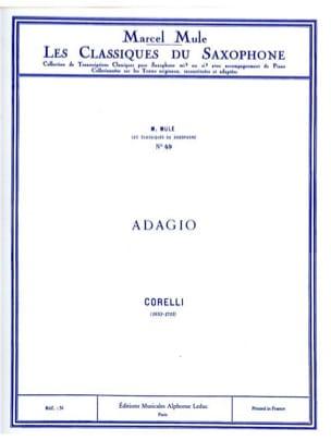 Arcangelo Corelli - Adagio - Partition - di-arezzo.fr