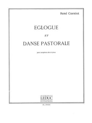 René Corniot - Eglogue and Pastoral Dance - Sheet Music - di-arezzo.co.uk