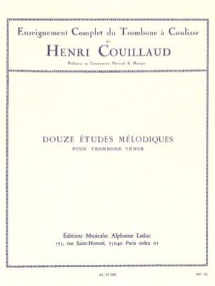 Henri Couillaud - 12 Melodic studies - Sheet Music - di-arezzo.co.uk