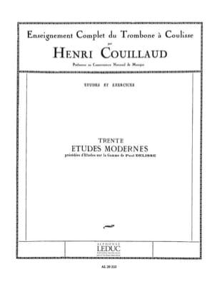 Henri Couillaud - 30 Modern Studies - Sheet Music - di-arezzo.co.uk