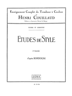 Henri Couillaud - Volume 2 Style Studies - Sheet Music - di-arezzo.co.uk