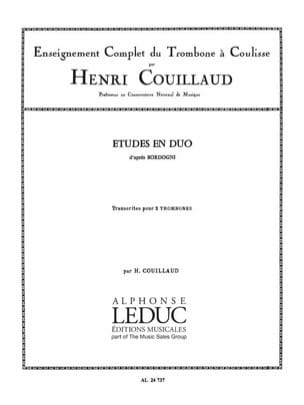 Henri Couillaud - Studies in duo after Bordogni - Sheet Music - di-arezzo.co.uk
