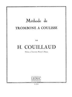 Méthode de Trombone A Coulisse Henri Couillaud Partition laflutedepan