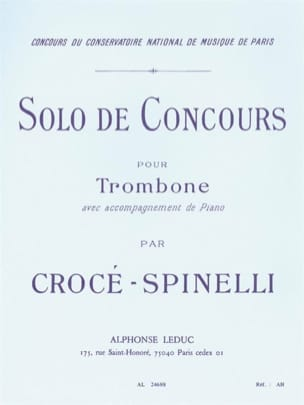 Crocé-Spinelli - Solo of Competition - Sheet Music - di-arezzo.co.uk