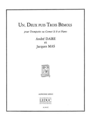 Daire A. / Mas J. - Un, Deux Puis Trois Bémols - Partition - di-arezzo.fr