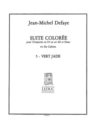 Suite Colorée N° 5 - Vert Jade - Jean-Michel Defaye - laflutedepan.com