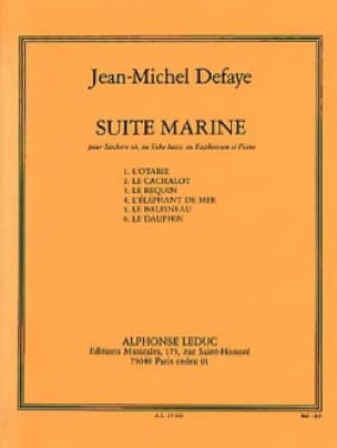 Jean-Michel Defaye - Suite Marine - Partition - di-arezzo.fr
