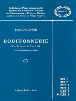 Degenne - Bouffonnerie - Partition - di-arezzo.fr