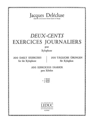 Jacques Delécluse - 200 Daily Exercises Volume 2 - Sheet Music - di-arezzo.co.uk