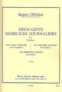 Jacques Delécluse - 200 Daily Exercises Volume 3 - Sheet Music - di-arezzo.co.uk