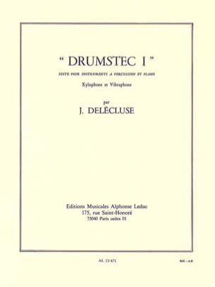 Jacques Delécluse - Drumstec N ° 1 - Sheet Music - di-arezzo.com