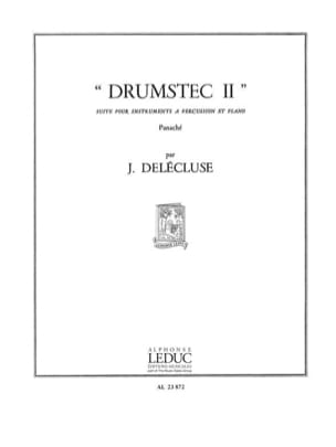 Jacques Delécluse - Drumstec N ° 2 - Sheet Music - di-arezzo.com