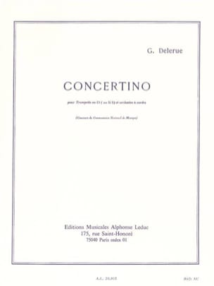 Georges Delerue - Concertino - Sheet Music - di-arezzo.co.uk