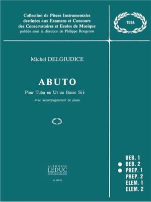 Abuto Michel Del Giudice Partition Tuba - laflutedepan