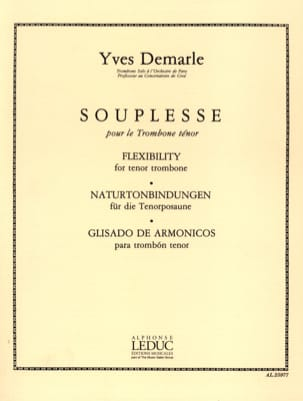 Yves Demarle - Flexibility - Sheet Music - di-arezzo.com