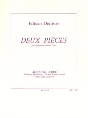 Edison Denisov - Two pieces - Sheet Music - di-arezzo.co.uk