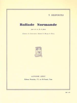 Yvonne Desportes - Norman Ballad - Sheet Music - di-arezzo.com