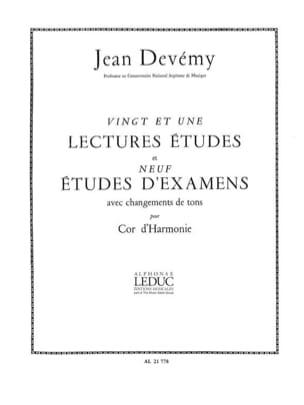 21 Lectures Etudes et 9 Etudes d'Examens Alain Devémy laflutedepan