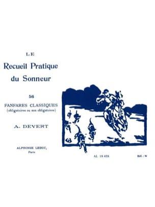 A. Devert - Le Recueil Pratique du Sonneur - Partition - di-arezzo.fr
