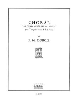 Choral La Vieille Année S'en Est Allée - laflutedepan.com