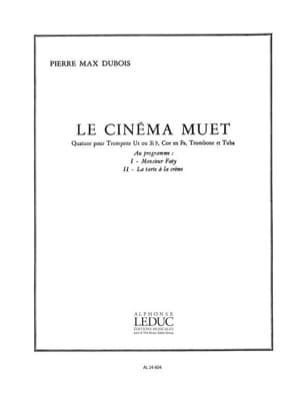 Cinéma Muet Pierre-Max Dubois Partition laflutedepan