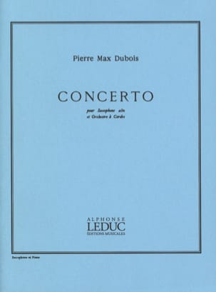 Pierre-Max Dubois - Concerto - Partition - di-arezzo.fr