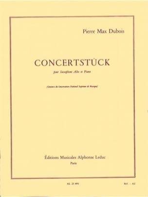 Concertstück - Pierre-Max Dubois - Partition - laflutedepan.com
