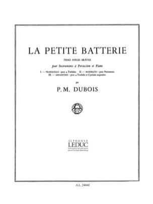 Pierre-Max Dubois - La Petite Batterie - Partition - di-arezzo.fr