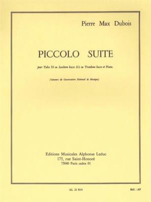 Pierre-Max Dubois - Piccolo Suite - Partition - di-arezzo.fr