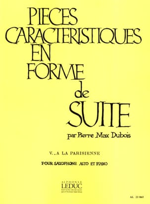 Pierre-Max Dubois - Rooms Features Volume 5 - A la Parisienne - Sheet Music - di-arezzo.com
