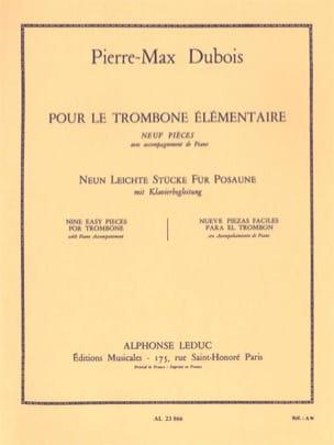 Pour le Trombone Elémentaire - 9 pièces - laflutedepan.com
