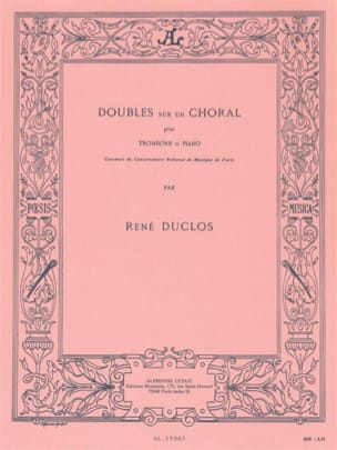 René Duclos - Doubles On A Choral - Sheet Music - di-arezzo.co.uk