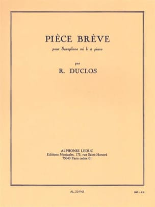 René Duclos - Brêve Room - Sheet Music - di-arezzo.co.uk