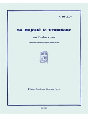 René Duclos - His Majesty the Trombone - Sheet Music - di-arezzo.co.uk
