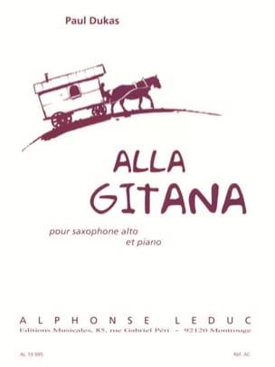 Paul Dukas - Alla Gitana - Sheet Music - di-arezzo.co.uk