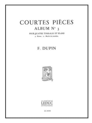 François Dupin - Courtes Pièces Album N° 3 - Partition - di-arezzo.fr