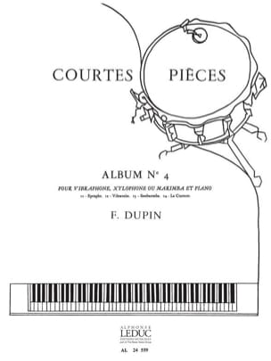 François Dupin - Short Pieces Album N ° 4 - Sheet Music - di-arezzo.co.uk