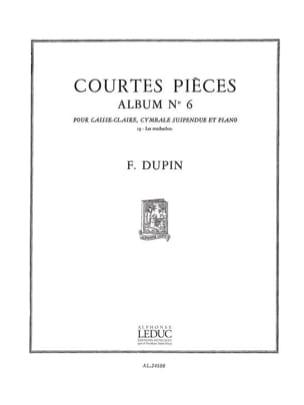 Courtes Pièces Album N° 6 - les Muchachos François Dupin laflutedepan