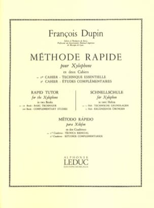 François Dupin - Quick Method For Xylophone Volume 1 - Sheet Music - di-arezzo.com