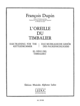 François Dupin - Ear of Timbalier - Sheet Music - di-arezzo.com