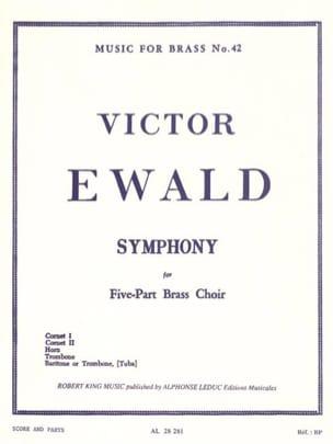 Symphony Victor Ewald Partition Ensemble de cuivres - laflutedepan