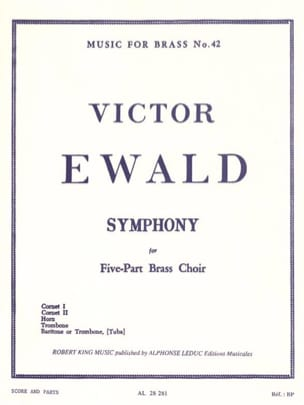 Victor Ewald - Symphony - Partition - di-arezzo.fr