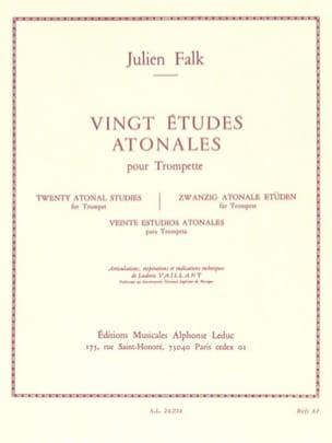 20 Etudes Atonales - Falk - Partition - Trompette - laflutedepan.com