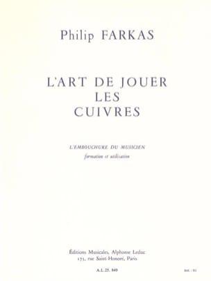Philip Farkas - Art of Playing Brass - Sheet Music - di-arezzo.com