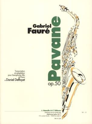 Pavane Opus 50 FAURÉ Partition Saxophone - laflutedepan