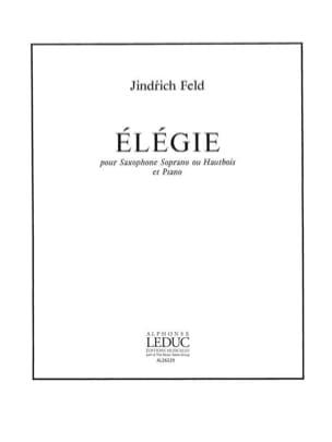 Elégie - Jindrich Feld - Partition - Saxophone - laflutedepan.com