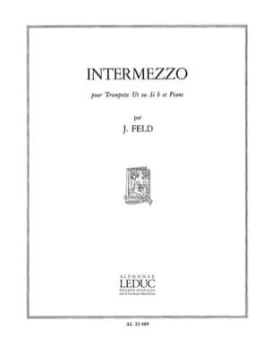 Intermezzo Jindrich Feld Partition Trompette - laflutedepan