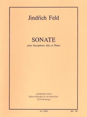 Sonate - Jindrich Feld - Partition - Saxophone - laflutedepan.com