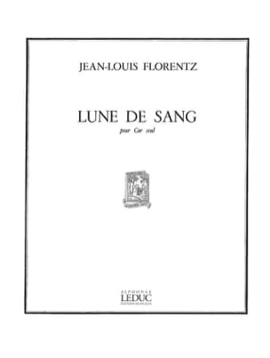 Jean-Louis Florentz - Moon of blood - Sheet Music - di-arezzo.com