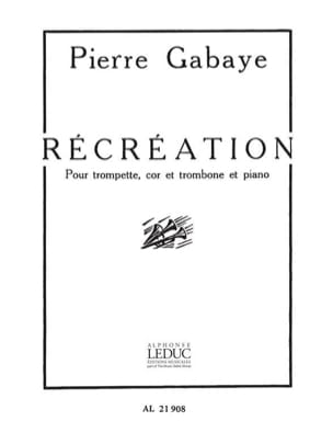 Pierre Gabaye - Break - Sheet Music - di-arezzo.com